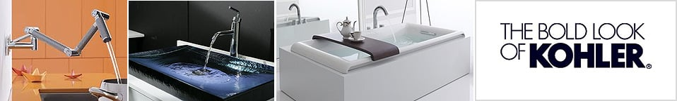 Kohler Kitchen and Bathroom Sinks, Faucets, Bath tubs, bathroom vanities and more