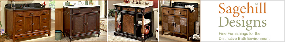 Sagehill Designs Bathroom Vanities and Bathroom Cabinets