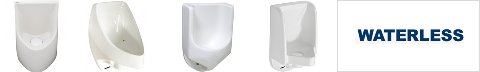 Waterless Urinals, Waterfree Urinals, No Flush Urinals