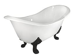 Victorian Clawfoot tubs by Elizabethan Classics