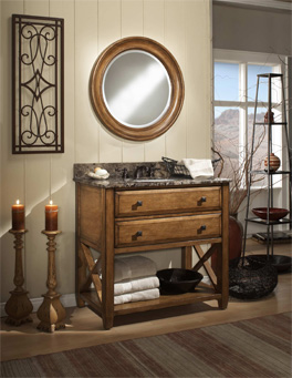 Country Bathroom Vanities Espresso Modern Double Sink Bathroom Vanity