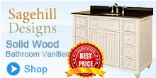 Sagehill Bathroom Vanities - Solid Wood Bathroom Vanities
