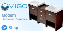 Vigo Modern Bathroom Vanities, Showers, Sinks and Faucets
