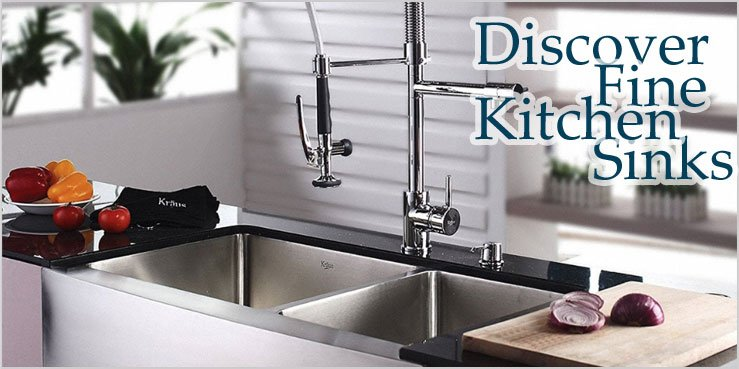 Kitchen Sinks, Kitchen Faucets, Range Hoods, Bar Sinks, Bar Faucets And More