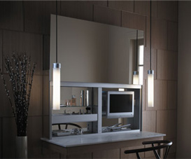 Robern Luxury Modern Bathroom Vanities and Medicine cabinets
